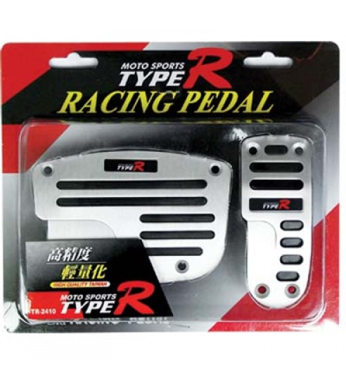 Type-R - Racing Pedal Auto Silver