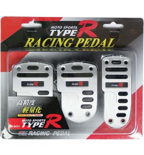 Type-R - Racing Pedal Manual Silver