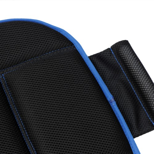 carmate memory foam breathable mesh fabric universal car seat cushions blue black. Black Bedroom Furniture Sets. Home Design Ideas