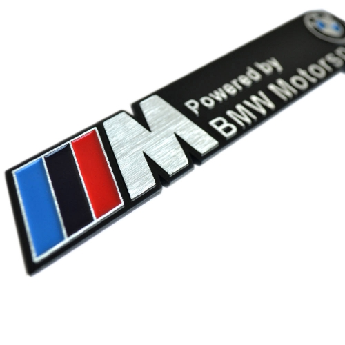 Bmw m emblem car badge sticker decal
